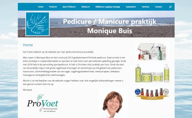 Pedicure/Manicure praktijk Monique Buis